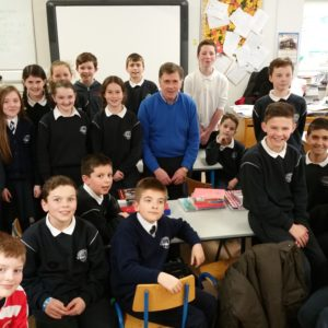 Master Tom Crowley with Spa N.S. Quiz Club!