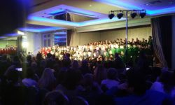 Spa N.S. performs with other schools at the Kerry School Showcase evening