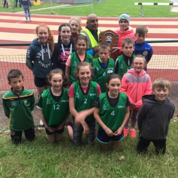 Celebrating success at the Kerry Schools Athletics Finals