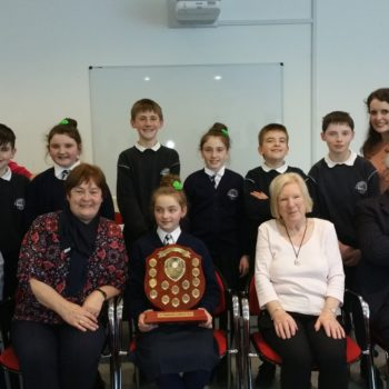 Proud Winners of the Kerry Schools Debating Competition.
