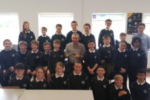 J.E.P. founder Jerry Kennelly visits Spa N.S. to discuss a few ideas!