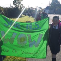 Our 'Walk on Wednesday' initiative is  a huge hit!